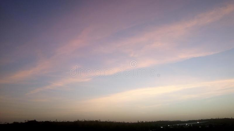 Fifty Shades of Sky royalty free stock image