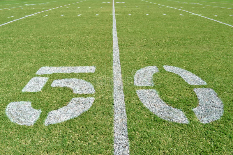 Download Fifty Yard Line stock photo. Image of background, yard - 27192928