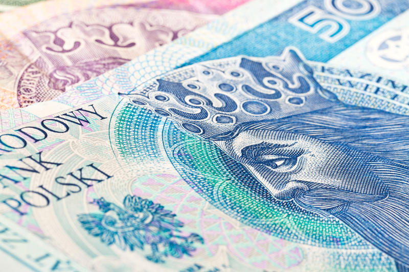 Download Fifty zloty banknote stock photo. Image of money, blue - 23370320