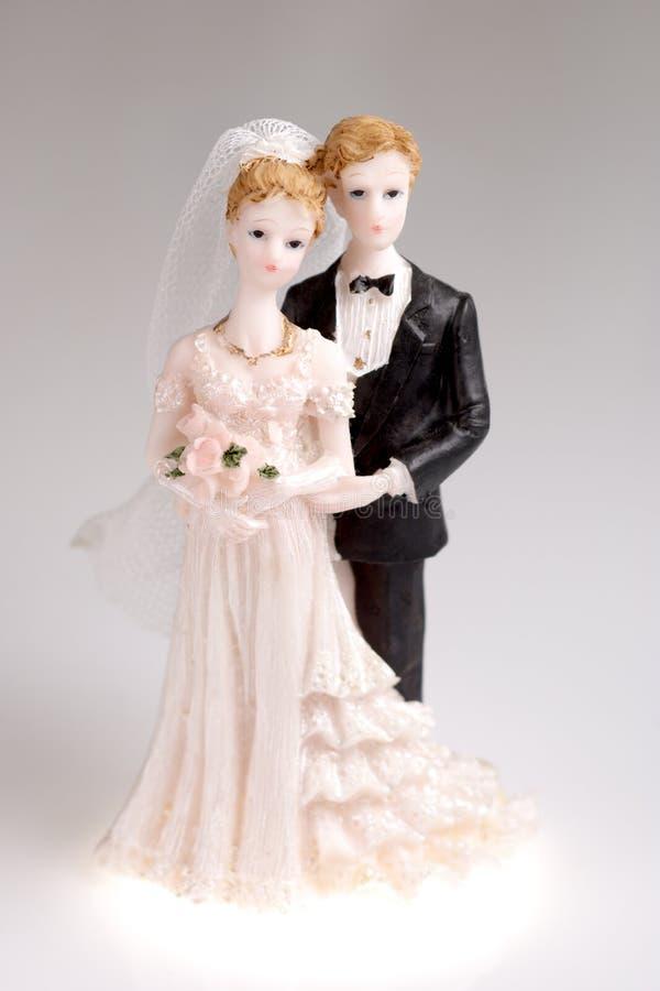 Figürchen der Hochzeitspaare lizenzfreie stockfotos