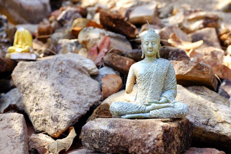 Figürchen von Buddha lizenzfreie stockfotos