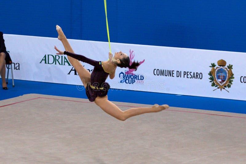 Download FIG Rhythmic Gymnastic WORLD CUP PESARO 2009 Editorial Stock Image - Image: 15120044