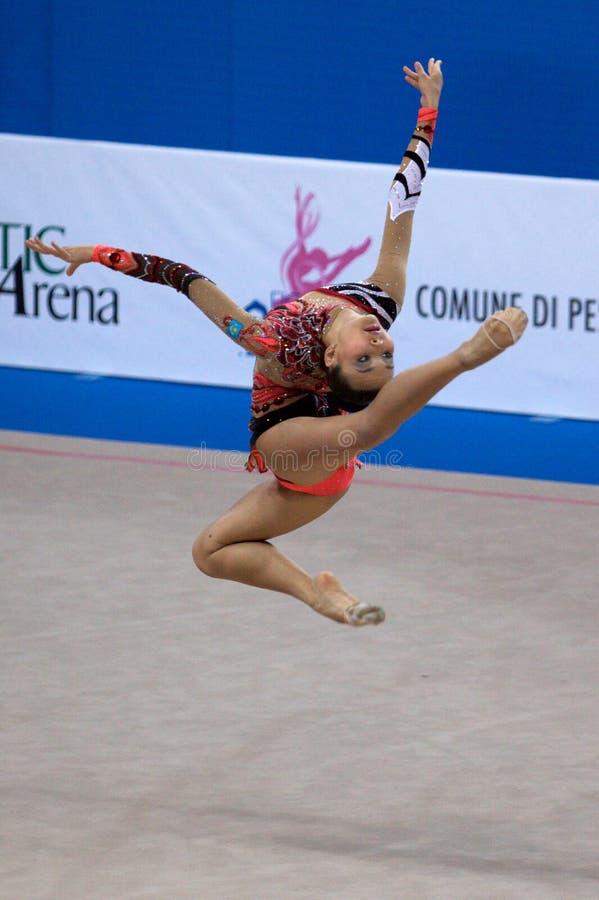 Download FIG Rhythmic Gymnastic WORLD CUP PESARO 2009 Editorial Photography - Image: 15120112