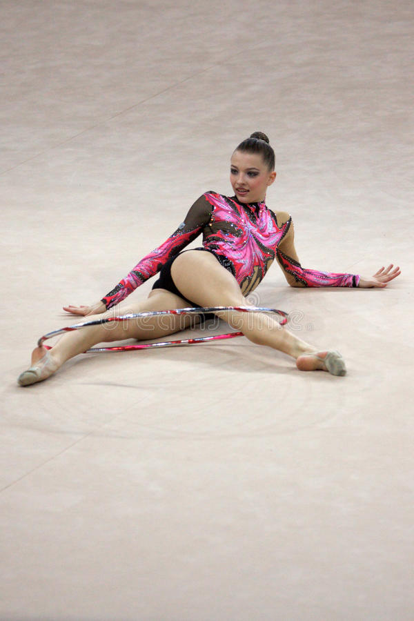 Download FIG Rhythmic Gymnastic WORLD CUP PESARO 2009 Editorial Stock Image - Image: 15120374