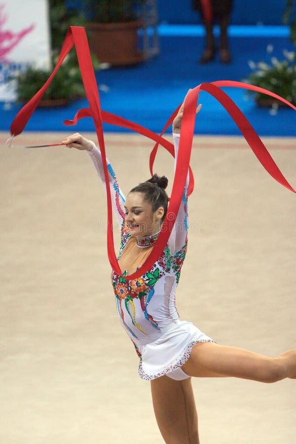 Download FIG Rhythmic Gymnastic WORLD CUP PESARO 2009 Editorial Stock Photo - Image: 15120428