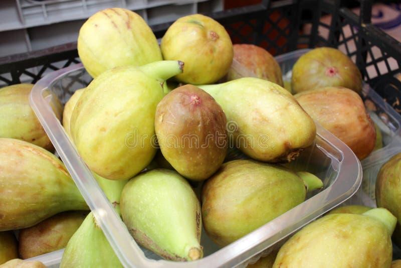 figaro Ώριμα σύκα Οργανικά φρούτα στοκ φωτογραφίες