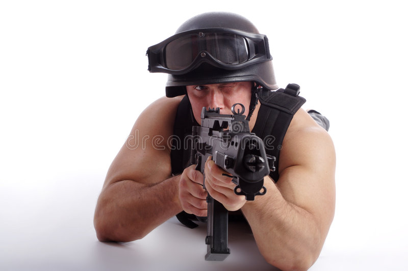 Download Fight stock image. Image of fight, attack, isolated, killer - 2109759
