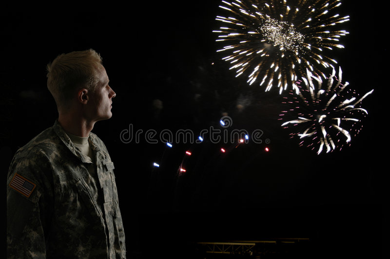 Download Fight for Freedom stock photo. Image of camouflage, fireworks - 2729946
