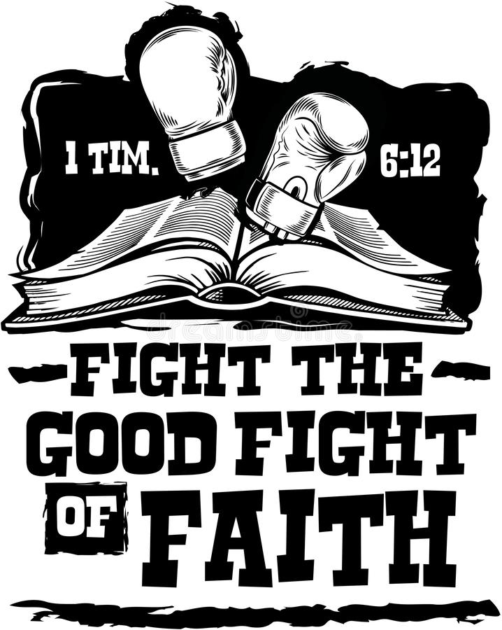 Free Fight The Good Fight Stock Photography - 149202042