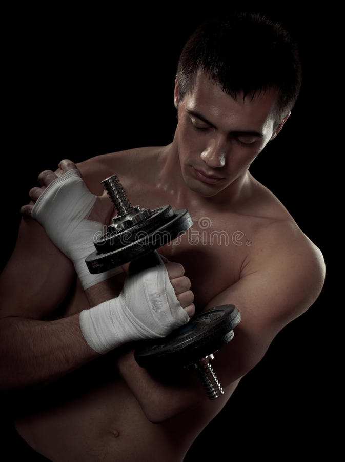 Download Fighter stock image. Image of male, sport, hand, boxer - 18635459