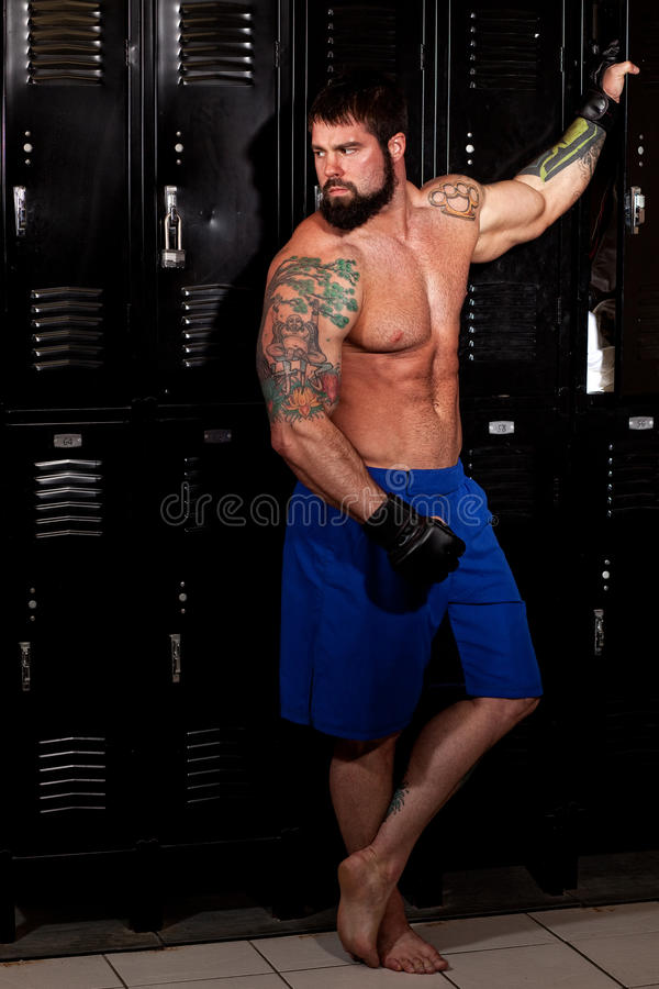 Fighter royalty free stock photo