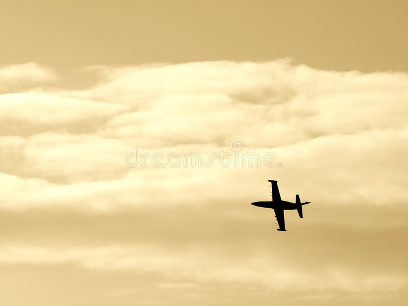 Fighter aircraft IV royalty free stock photo