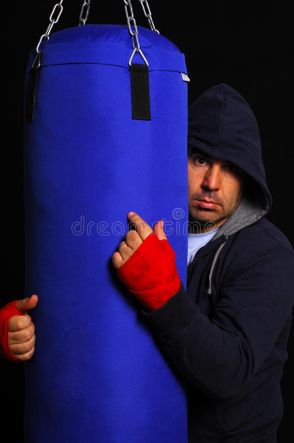 Download Fighter In Concentration Moment Stock Photo - Image: 21609534