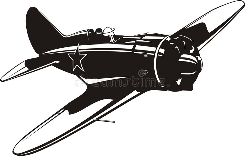 Fighter I16 royalty free illustration