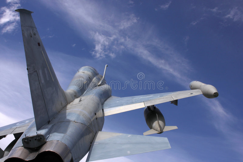 Fighter jet stock photography