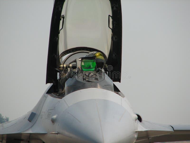 Fighter Jet Pilot royalty free stock image
