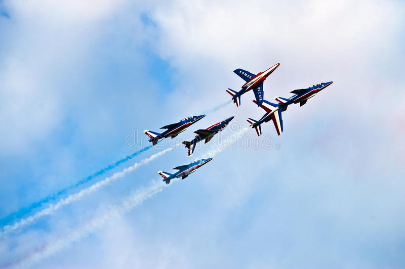 Download Fighter Jets During Acrobation Stock Photos - Image: 20943643