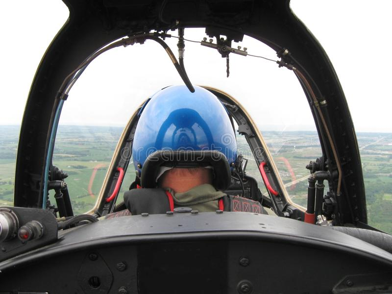 Fighter pilot stock images
