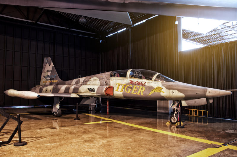Download Fighter Plane In The Cargo Editorial Stock Image - Image: 33529564