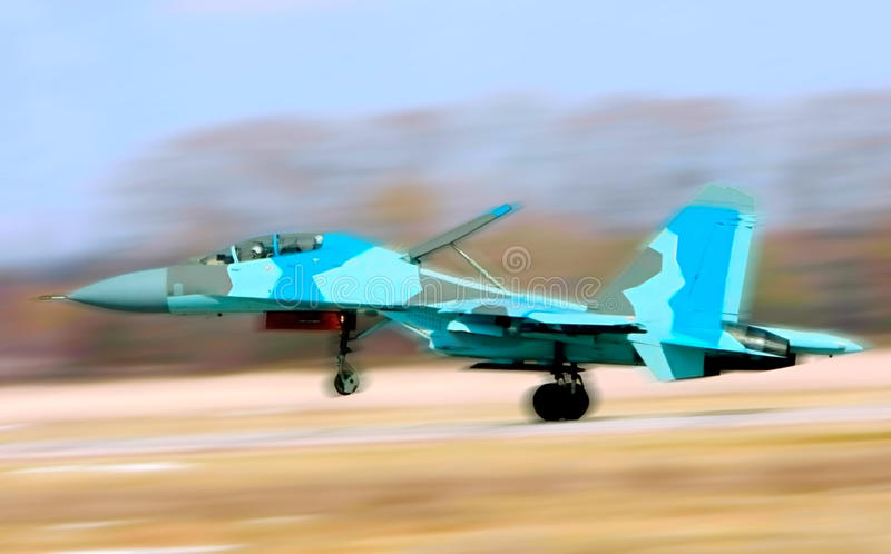 Download Fighter Su-34 stock image. Image of armed, object, motion - 11156089