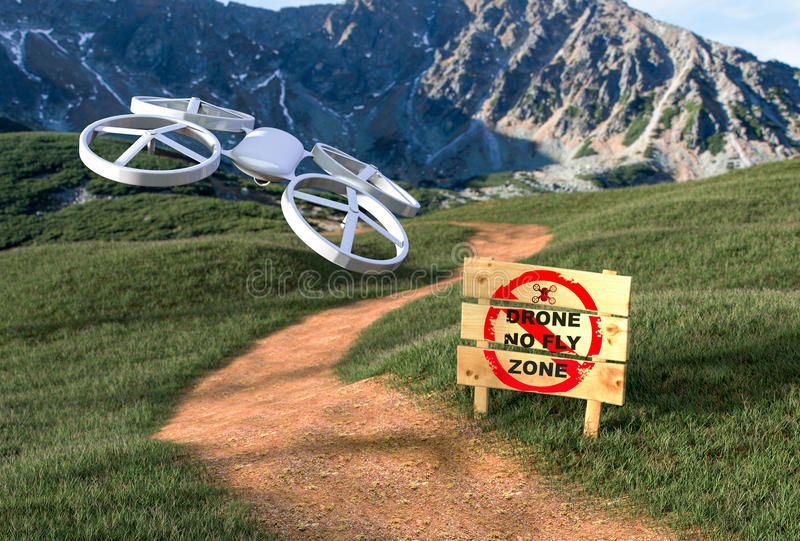 Fighting Back Against The Drone War stock photos