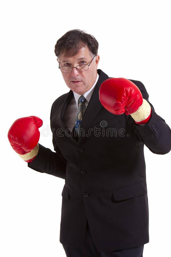 Fighting business stock images