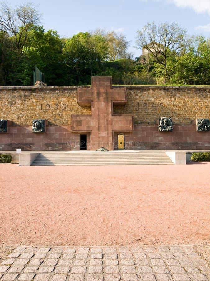 Fighting France Memorial, Mont-Valerien Stock Images