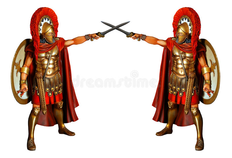 Download Fighting gladiators stock image. Image of greece, greek - 11146797