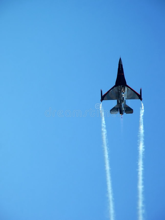 Fighting Jets royalty free stock photo