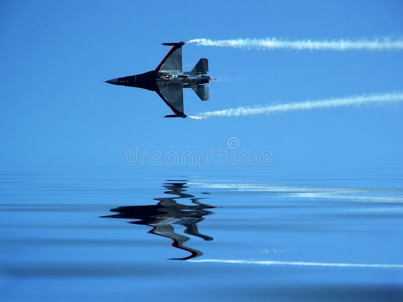 Fighting Jets stock photo
