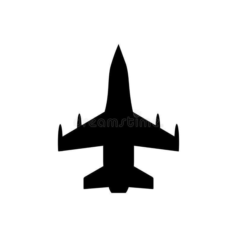 Fighting plane icon vector for graphic design, logo, web site, social media, mobile app, ui.  stock illustration