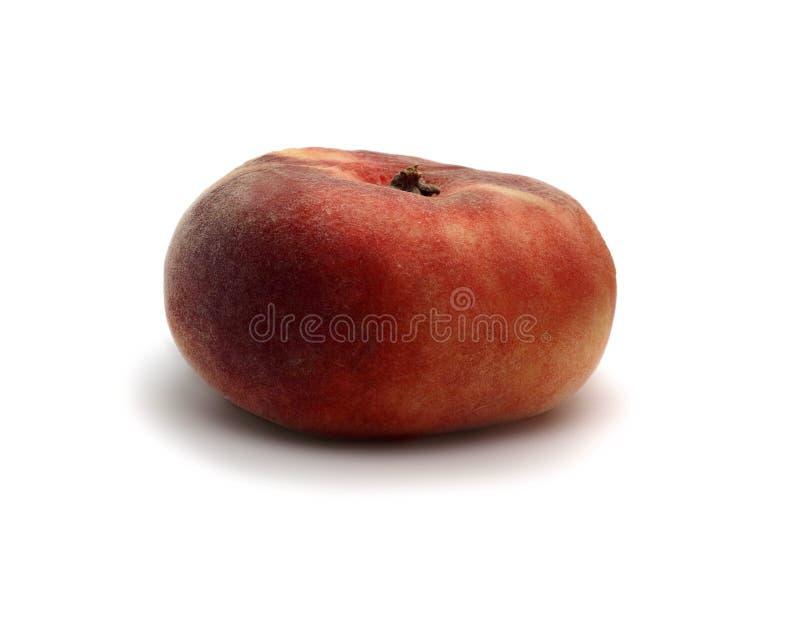 Figi brzoskwini owoc jest świeżym przedmiotem na białym tle zdjęcie royalty free