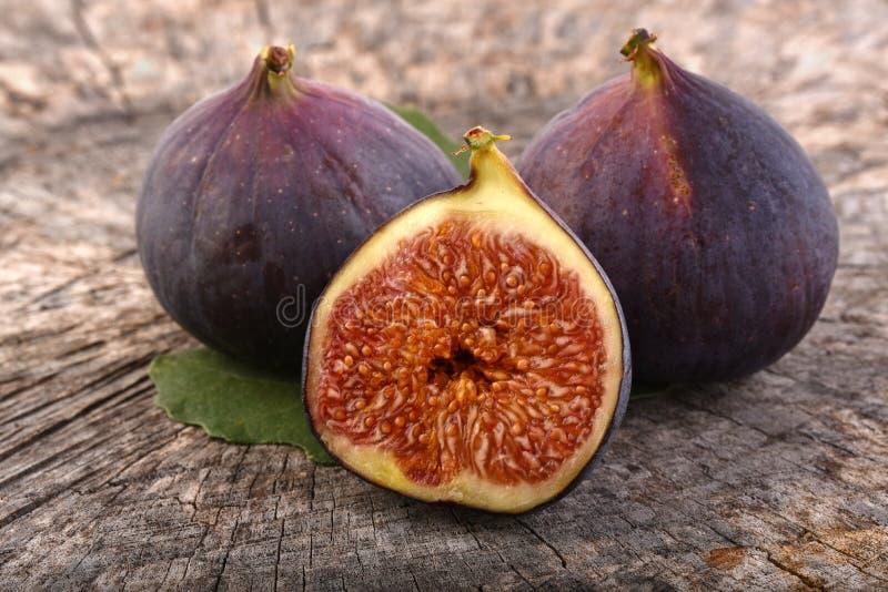 Figi, egzotyczne owoc obrazy royalty free
