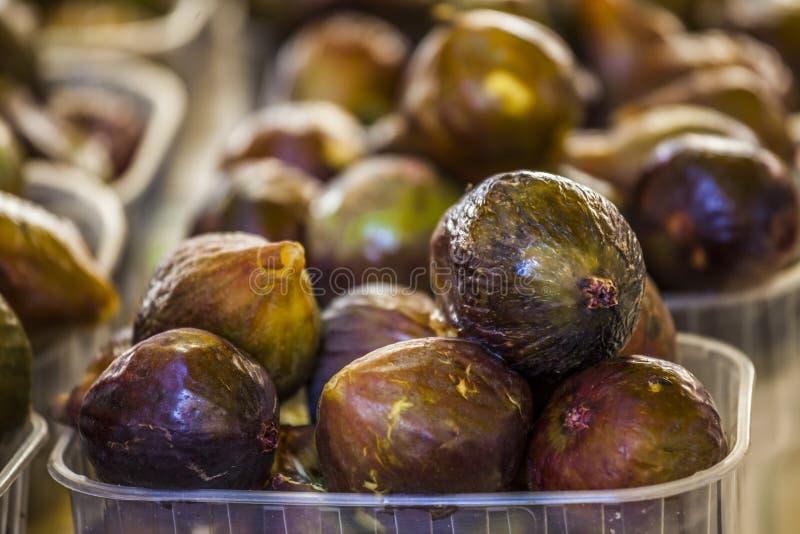 Figi przy rynkiem zdjęcie royalty free