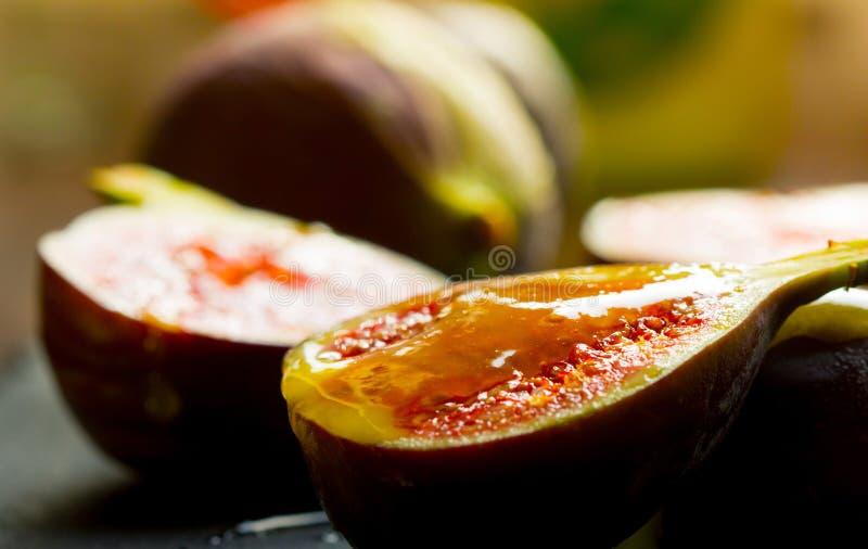 Figi z miodem zdjęcie stock