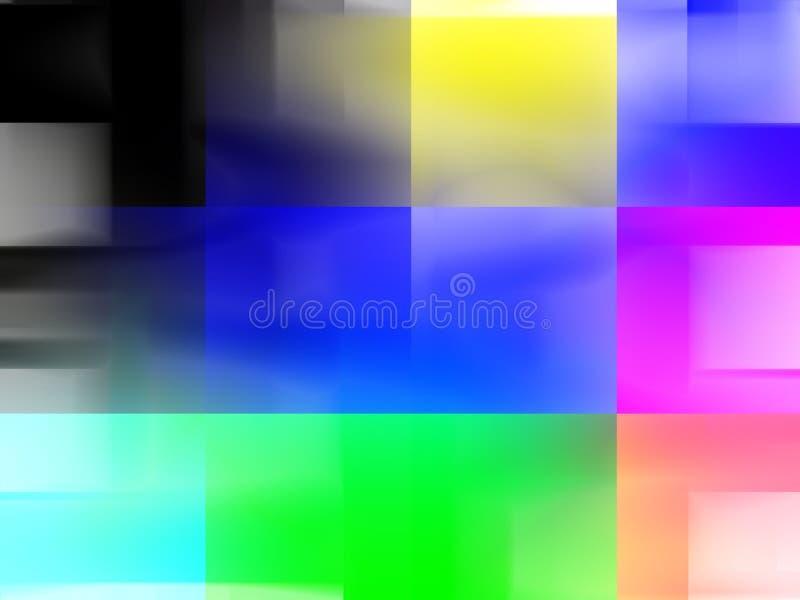 Figlarnie żywy koloru tło, światła, grafika, abstrakcjonistyczny tło i tekstura, ilustracja wektor