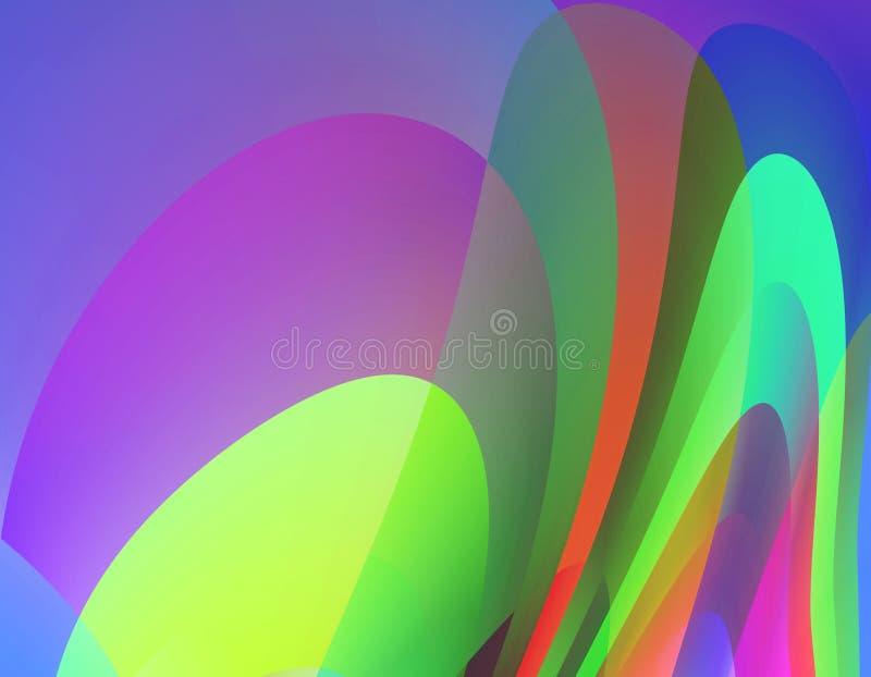 Figlarnie miękka część barwi tło, grafika, abstrakcjonistycznego tło i teksturę, ilustracji