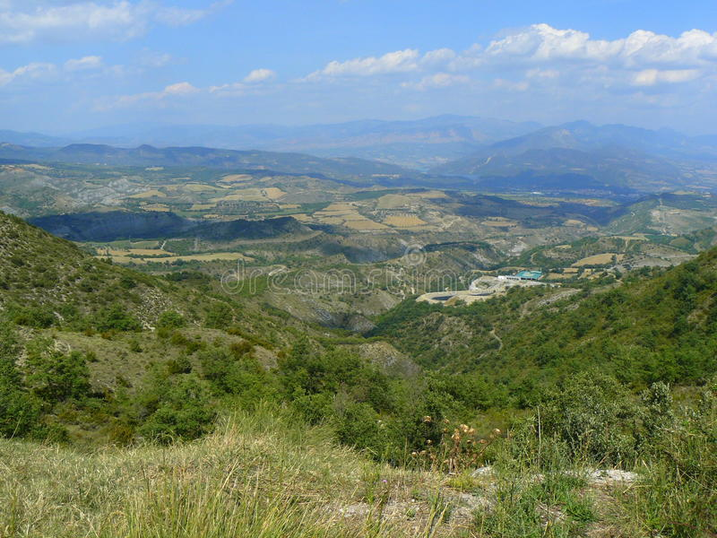 Figols de Tremp, Espanha foto de stock royalty free