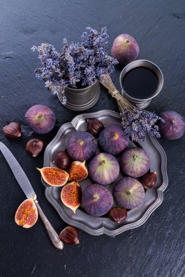 Figos frescos imagens de stock