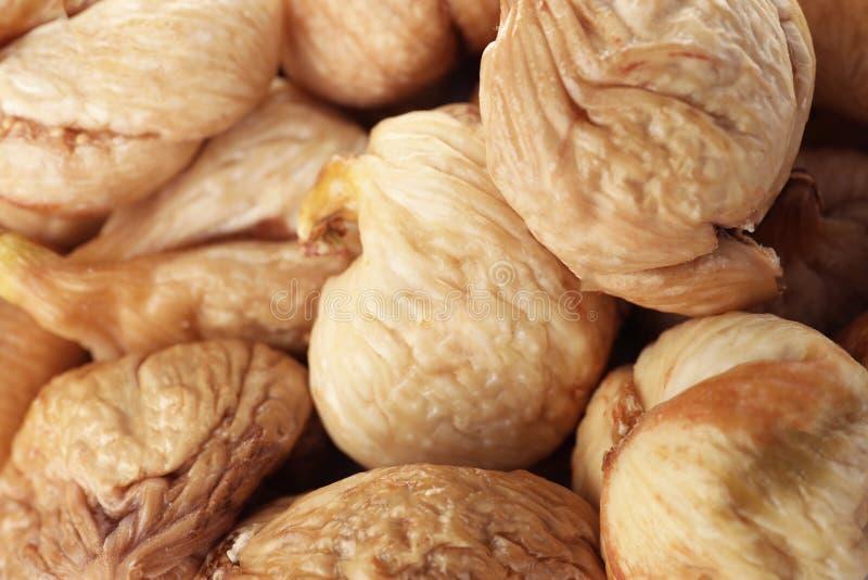 Figos saborosos como o fundo Frutos secos saudáveis imagens de stock