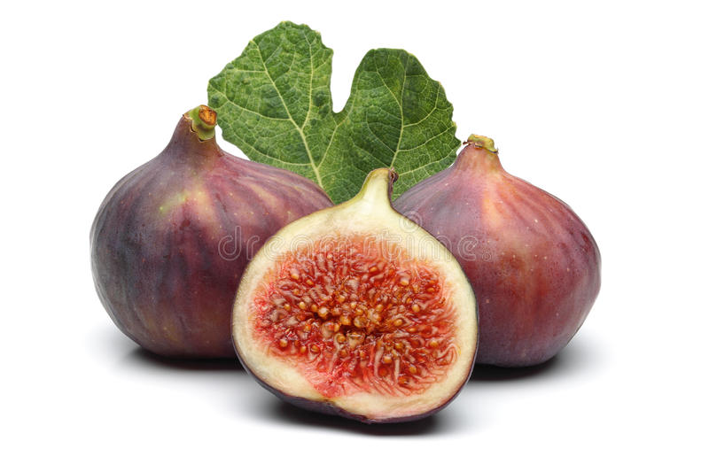 Figs and leaf stock images