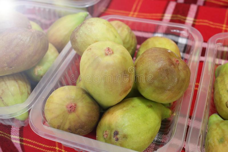 figue Figues m?res Fruits organiques images stock