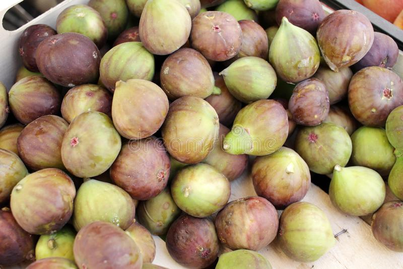 figue Figues m?res Fruits organiques images libres de droits