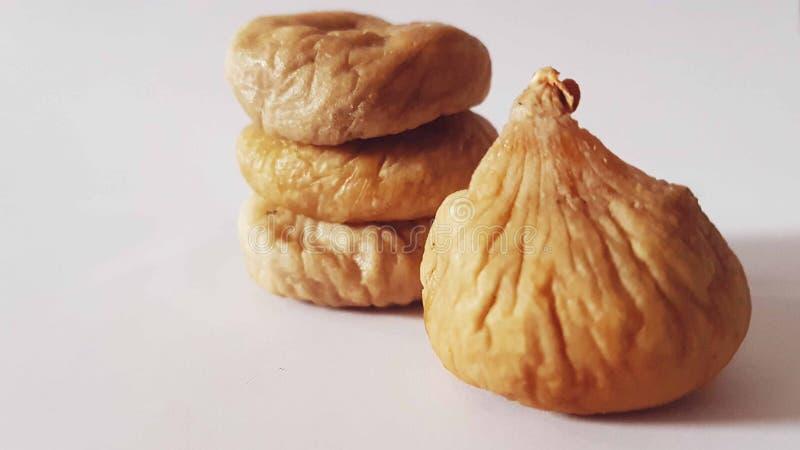 Figue sèche de fruit de biscuits de figue image libre de droits