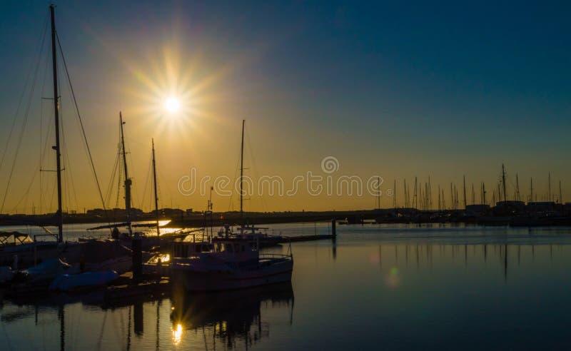 Figueira da Foz - Portugal, der Hafen lizenzfreie stockbilder