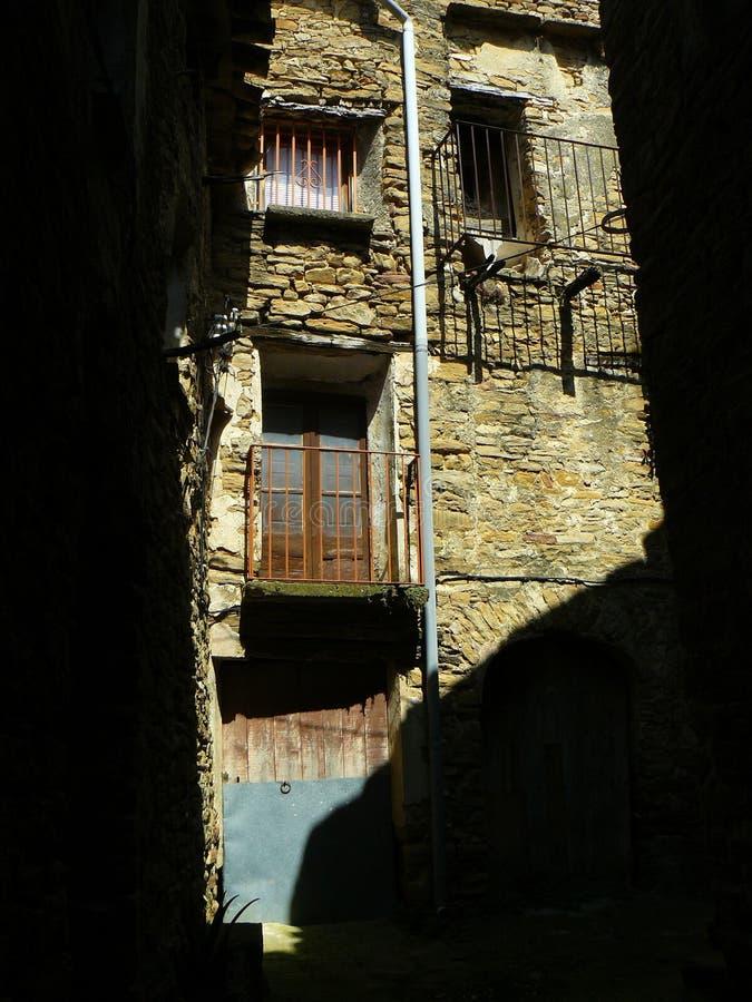 Figuerola De Meia, Lleida, Hiszpania fotografia stock