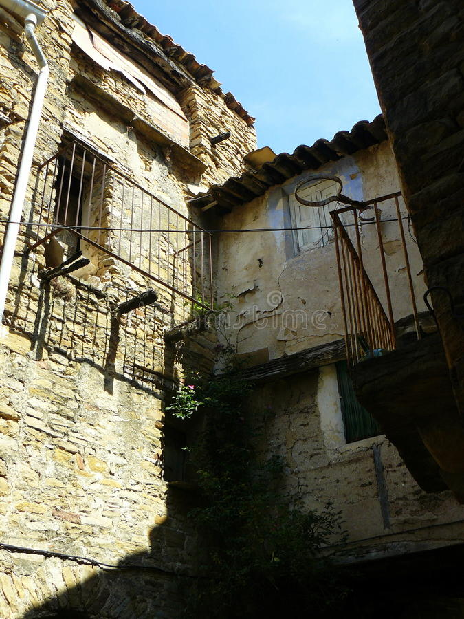 Figuerola De Meia, Lleida, Hiszpania zdjęcia royalty free