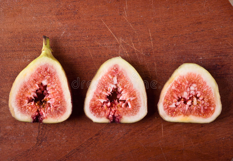 Figues douces mûres image stock