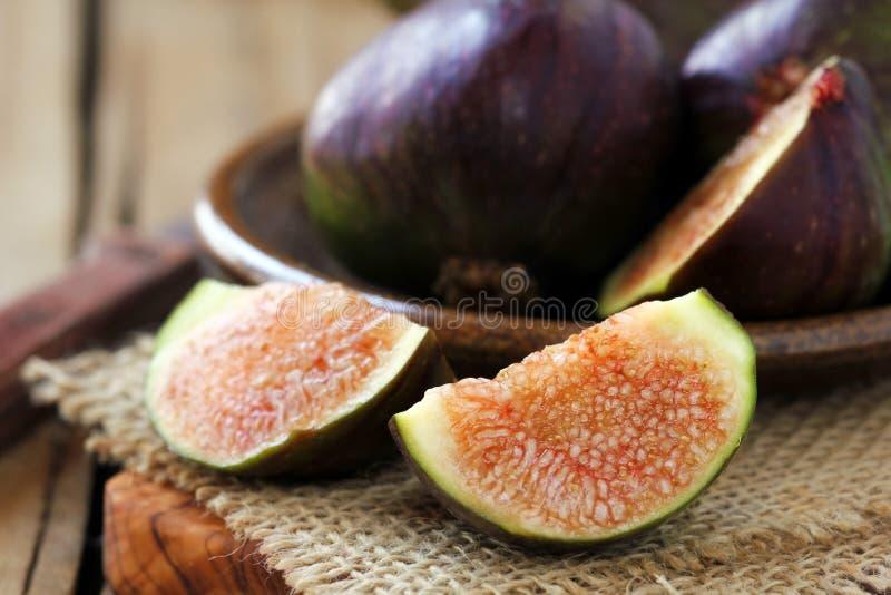Figues fraîches photos stock