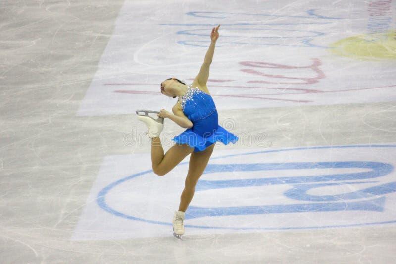 Figura campeonatos do mundo de ISU da patinagem imagens de stock royalty free